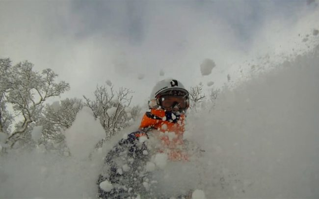 Snowboarding-Powder-Facial